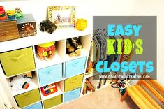 Wire To Wow! Kid's Closet Reveal