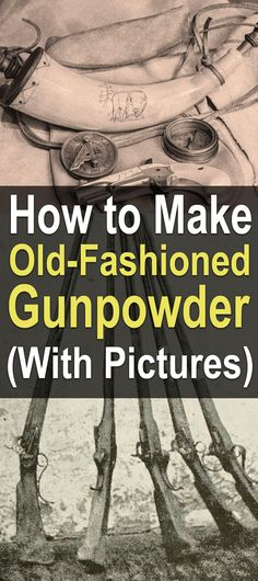 Black powder, the original gunpowder, can be made from sulfur, charcoal, and potassium nitrate. Even if you never make your own gunpowder, these items are worth having on the homestead, anyway. In fact, they all have a place in the homestead for one use or another.