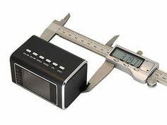 Hidden Camera Alarm Clock USB Portable Security Surveillance Camcorder