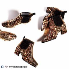 """Ashlee Sara Jones on Instagram: """"#Repost @mytheresaprgirl with @repostapp. ・・・ We can't keep our eyes off @rogervivier's 'Skyscraper' ankle boots. Coated in sparkling sequins, they are sure to turn heads. #buytheresa #mytheresa www.liketk.it/01dU These boots are made for walking.. And made for my closet! @ashleesarajones #mytheresa #rogerviver #online #luxury #designer #shopping #highfashion #boots #footwear #thesebootsaremadeforwalkin #madeformycloset #sequins #sequinsareamust"""