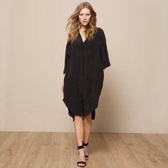 La Robe ample TOUPY – modèle FOREVER en pure soie   La Redoute 229€