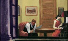 Edward Hopper: Room at night