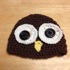 owl hats for newborn to 3-4 years old