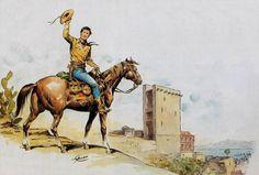 L'ultima copertina di Tex disegnata da Galep (Aurelio Galleppini)