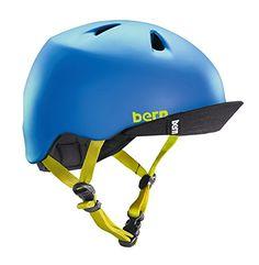 From 34.99:Bern Nina Children's Helmet Children's Nino Matt Bleu Taille S-m - 515-545  Cm | Shopods.com