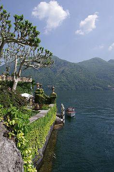 Villa del Balbianello lake access - Lenno, Lake Como, Italy