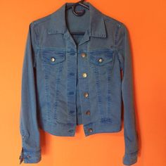 Replay Denim Jacket Really good condition. A little different from your typical denim jacket because of its color  Replay Jackets & Coats Jean Jackets