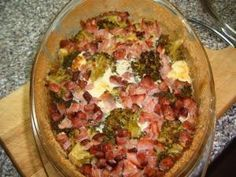 Zapečená brokolice s uzeným masem a sýrem Guacamole, Mexican, Ethnic Recipes, Mexicans