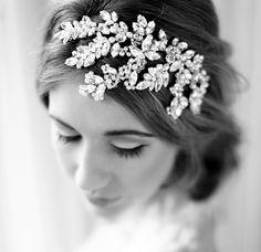 Verity Bridal headdress | Bridal Accessories Scotland by Corrine Smith