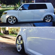xB with paint matched wheels