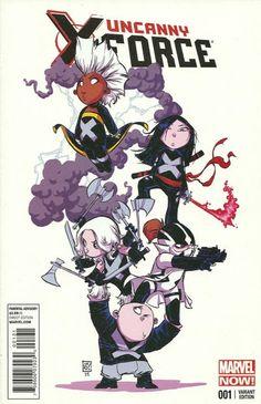 Skottie Young: Uncanny X-Force #1
