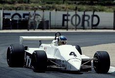 1982 Tyrrell 011 Ford, Slim Borgudd