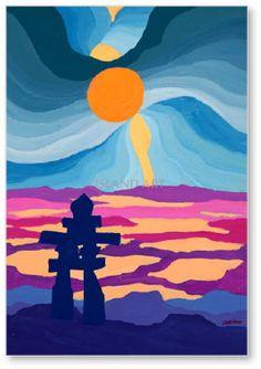 Ted Harrison Paintings <b>ted harrison</b>  island <b>art</b> publishers