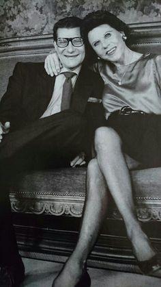 Yves et sa mère Lucienne 1990 Photo François Marie Banier