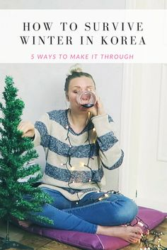 How to survive winter in // KOREA