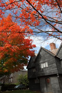The Witch House in Salem, Massachusetts, the only of many witch museums in Salem with actual ties to the Salem Witch Hunt, being the home of Jonathan Corwin, one of the judges.