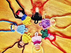 Ravelry: Princess Barefoot Sandals pattern by Harvester Products. 7 princess patterns for $10