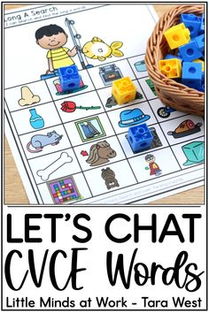 Searching for CVCE word activities for kindergarten? These hands on activities are highly engaging and simple to prepare. Click the pin to check out a huge variety of CVCE word activities, including some freebies too!