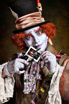 Alice in Wonderland: Mad Hatter ( Looks spot on!)