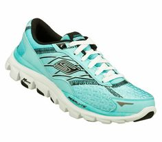 Buy SKECHERS Women's Skechers GOrun ride 2 - Nite Owl Running Shoes only $100.00. They glow in the dark!