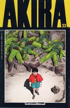 Akira epic comics version issue 33 cover