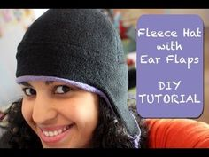 Fleece Hat Tutorial with Free Printable Pattern in Child & Adult Sizes! CUTE!! By @Vanessa Wilson of CraftyGemini
