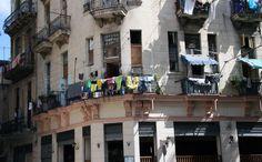 La Habana Vieja drying clothes