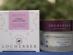 Locherber 24h DNA cream, with Asian Centella and vegetal DNA ingredients, brings immediate and highly effective moisture to dry, fatigued skins.