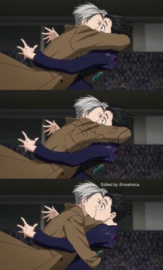 People around the world are going insane after episode 7 of Yuri on Ice. The battle was won. Love prevailed!