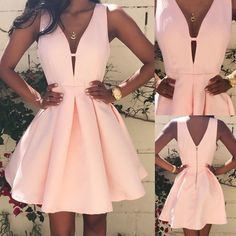 Sexy Women Summer Casual Sleeveless Party Evening Cocktail Short Mini Dress Hot #Unbranded #BallGown #Cocktail