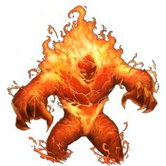 fire elemental - Google Search