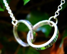 What A Wonderful World Necklace--so pretty!