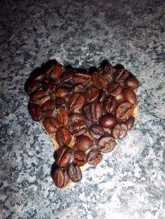 Valentýnská dekorace s vůní kávy