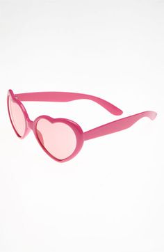 We only have eyes for love! Icon Eyewear Neon Sunglasses (Girls) #Nordstrom #Valentine $12