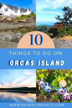 Orcas Island is one of Washington State's favorite getaway destinations. Discover the top things to do on Orcas Island with this guide and itinerary to the most beloved island in the San Juan Islands National Monument. Orcas Island, San Juan Islands, Love Island, Whale Watching, Beautiful Islands, Washington State, Pacific Northwest, Continents, Travel Guides