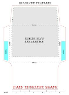 envelope template by Maiden11976