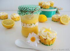 Vanilla & Lemon Curd Cupcakes