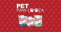 Bravo Pet Foods is participating in Pet Paw-Looza!