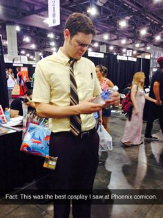 """IDENTITY THEFT IS NOT A JOKE, JIM!""  // the office // cosplay // dwight shrute"
