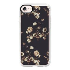 Antique Floral - iPhone 7 Case And Cover ($40) ❤ liked on Polyvore featuring accessories, tech accessories, phone, phone cases, iphone case, clear iphone case, floral iphone case, apple iphone case, iphone cases and iphone cover case