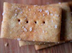 Gluten-Free Easy Homemade Crackers