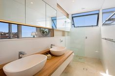 Modern bathroom design 2017 on photo