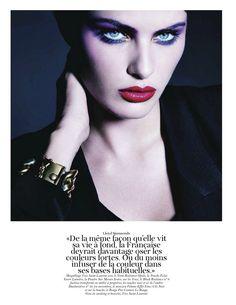 Isabeli Fontana by Patrick Demarchelier for Vogue Paris September 2011
