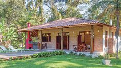 Dream Home Design, My Dream Home, House Design, Outdoor Pool Shower, Kerala Traditional House, Hacienda Homes, Cabin House Plans, Adobe House, Small Cottages