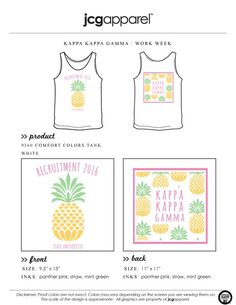 #kappakappagamma #kkg #recruitment #pineapples