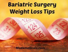 Blog post at Madame Deals, Inc. : Bariatric Surgery Before and After Bariatric Surgery Tips For Successful Weight Loss   My Bariatric Surgery Before and After Story It [..]