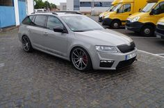 Hoping to drive one of these very soon ! - Škoda vRS 2018 (Ours will be in metallic blue) Luxury Car Rental, Luxury Rv, Octavia Rs Combi, Vw Group, Volkswagen Group, Skoda Fabia, Shooting Brake, Vw Passat, Super Cars