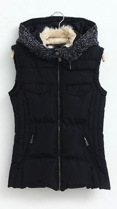 (January Box) Stitch fix stylist: i love the Thin winter vest like this one! Brown, navy blue, black