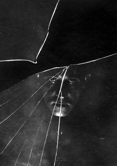 Stanisław Ignacy Witkiewicz, Self-Portrait in a Broken Mirror, 1914