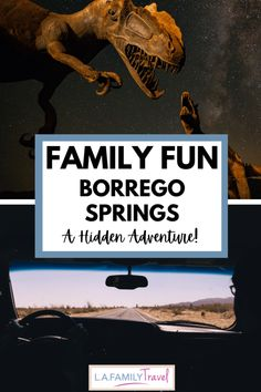 Borrego Springs Brings Off the Beaten Path Family Fun - LA Family Travel